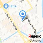 Юр-Транс на карте Барнаула