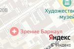 Схема проезда до компании Евровагонка 22 в Барнауле