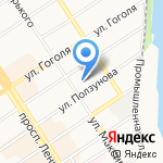 Офистелеком на карте Барнаула