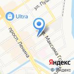 Столярка на карте Барнаула