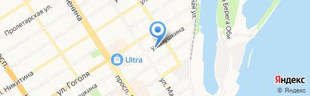 СОРА-Инвест на карте Барнаула