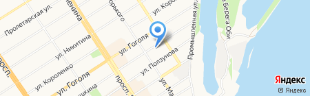 НовоИнфоСвязь на карте Барнаула