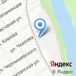Форштад на карте Барнаула