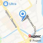 Алтайский краевой центр поддержки предпринимательства на карте Барнаула