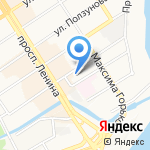 WEB22.RU на карте Барнаула