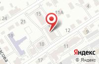 Схема проезда до компании Энергия-Сервис в Барнауле
