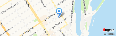 СИБИРЬ ТРЕЙД на карте Барнаула