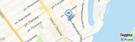 Лента-Пак на карте Барнаула