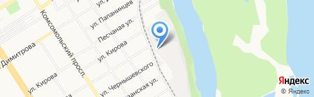 ЯМАЙКА на карте Барнаула