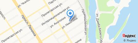 Vip`s на карте Барнаула