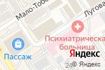 Схема проезда до компании АБА в Барнауле