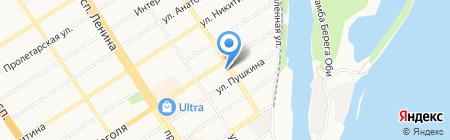УФМС на карте Барнаула