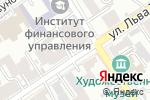Схема проезда до компании К-трэвел в Барнауле