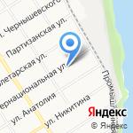Инпрок Дизайн на карте Барнаула