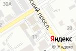 Схема проезда до компании Управление по вопросам миграции в Барнауле