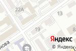 Схема проезда до компании УФСИН России по Алтайскому краю в Барнауле