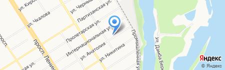 АгроБизнес на карте Барнаула