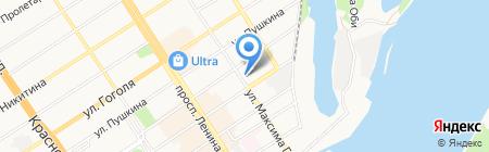 Журналист на карте Барнаула