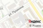 Схема проезда до компании Алтайагротранссервис в Барнауле