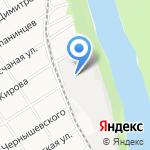 На Промышленной на карте Барнаула