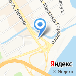 Часовня князя Владимира на карте Барнаула