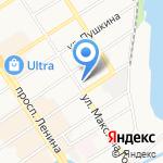 ФИСТЕХ на карте Барнаула