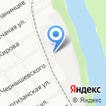 Кофеев на карте Барнаула