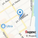 Институт водных и экологических проблем на карте Барнаула