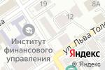 Схема проезда до компании ТехноСтрой в Барнауле