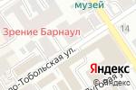 Схема проезда до компании Пчелка в Барнауле