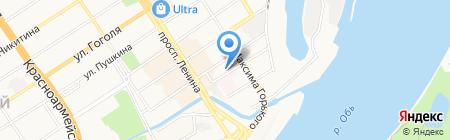Центр Корпоративного Обслуживания на карте Барнаула