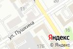 Схема проезда до компании Телефон доверия в Барнауле