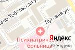 Схема проезда до компании АКС-Трэйд в Барнауле