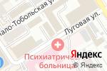 Схема проезда до компании Центр Корпоративного Обслуживания в Барнауле