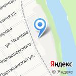 Инвест-пром на карте Барнаула