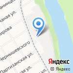 АлтайЛесПил на карте Барнаула