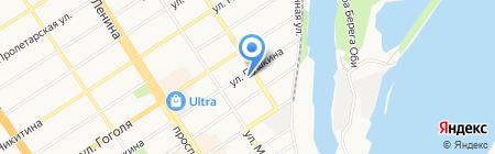 Управление Федеральной службы судебных приставов по Алтайскому краю на карте Барнаула