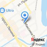На Востоке на карте Барнаула