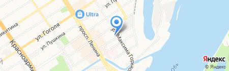 Бизнес КОД на карте Барнаула