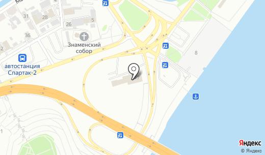 FORTE. Схема проезда в Барнауле