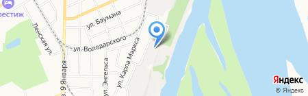 АЛЬФА на карте Барнаула