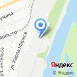 Многопрофильная компания на карте Барнаула