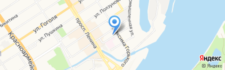 ПЛАСТЕКС на карте Барнаула