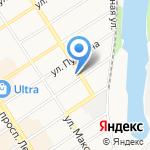 Роснефть-Алтайнефтепродукт на карте Барнаула
