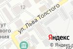 Схема проезда до компании Система Город в Барнауле