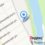 М-торг на карте Барнаула