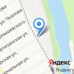 Барнаулрыба на карте Барнаула