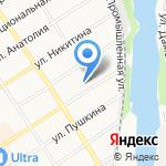 Алтайский техникум кинологии и предпринимательства на карте Барнаула