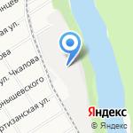 Кварцит на карте Барнаула