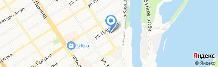 aGa Голос на карте Барнаула
